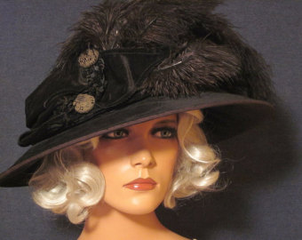 merry widow hat